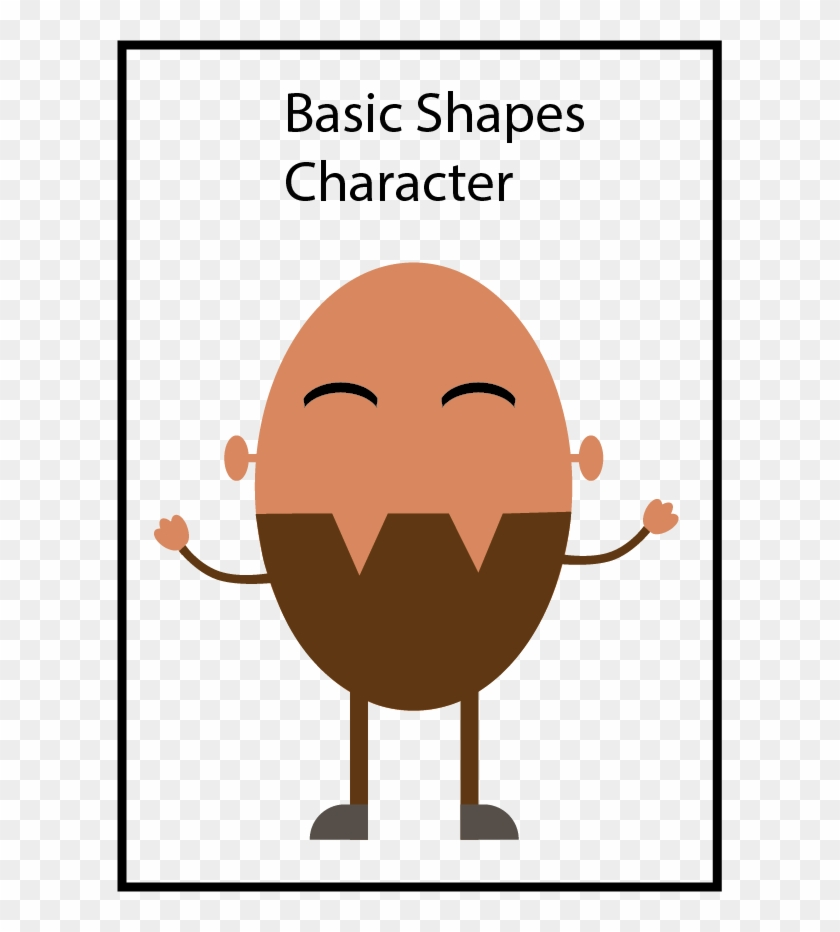 Basic Shapes Character - Brasil Map, HD Png Download - 605x852