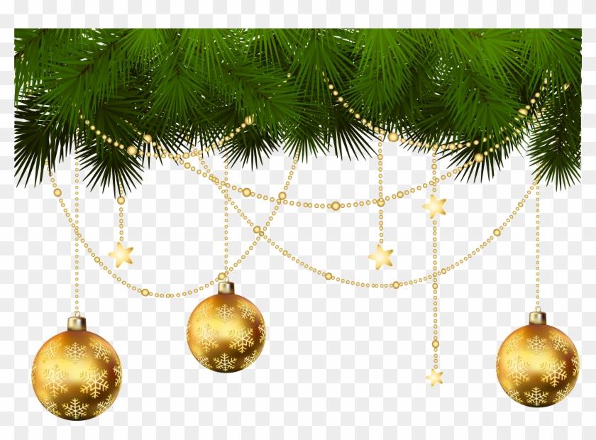 Gold Christmas Ornaments Png.Christmas Tree Christmas Ornament Clip Art Transparent