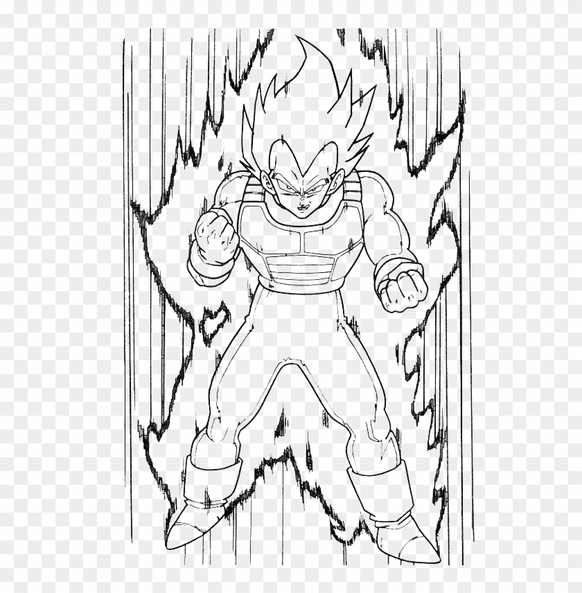 Vegeta Vector Pride Dessin Facile Dragon Ball Z Hd Png Download 545x785 3908073 Pngfind