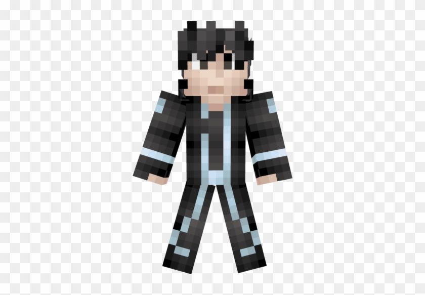Pwwqdgpng - Sword Art Online Kirito Minecraft, Transparent