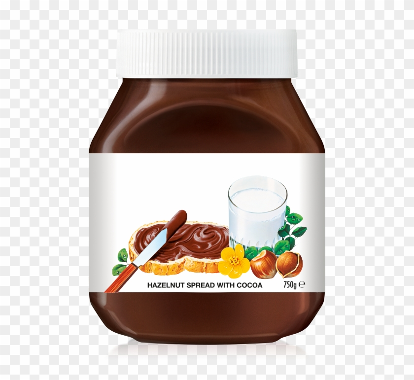 It's just a photo of Canny Mini Nutella Label Template