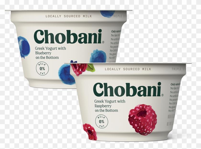 Greek - Chobani Blueberry Yogurt, HD