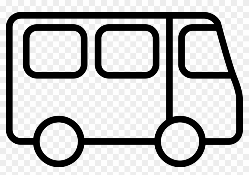 Bus Outline Icon Png Clipart Bus Computer Icons Clip - Bus
