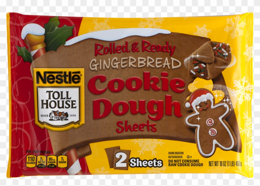 Nestle Toll House Rolled Ready Gingerbread Cookie Nestle Toll
