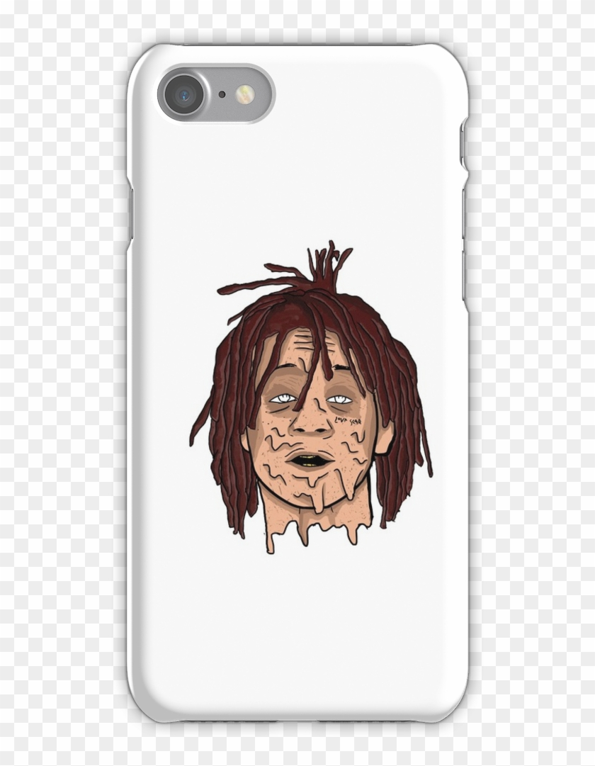 8b0417510c Trippie Redd Grime Artwork Iphone 7 Snap Case - Iphone 7