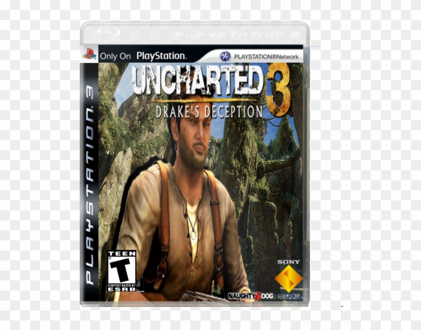 Drake S Deception Box Cover Pc Game Hd Png Download 600x600