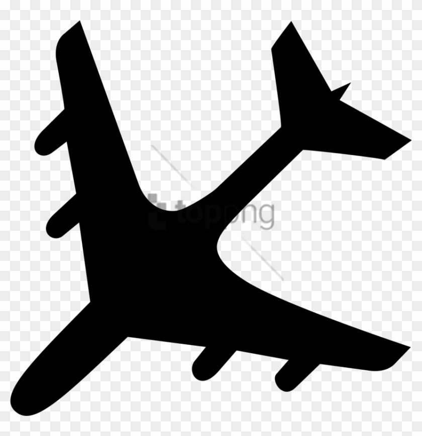 Free Png Download Airplane Black Png Images Background Airplane