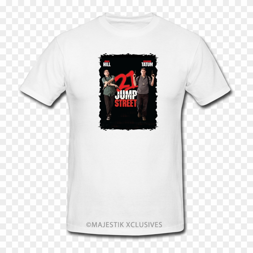 6f38a337feae 21 Jump Street V2 Movie T Shirt Jonah Hill Channing - T Shirt, HD Png