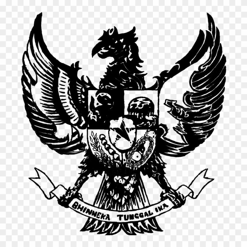 Clipart Garuda Pancasila Garuda Indonesia Hd Png Download