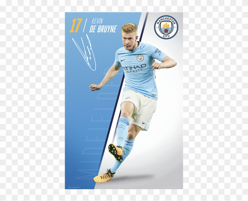 new style 57b88 84768 Manchester City Kevin De Bruyne Poster 17/18 - Manchester ...