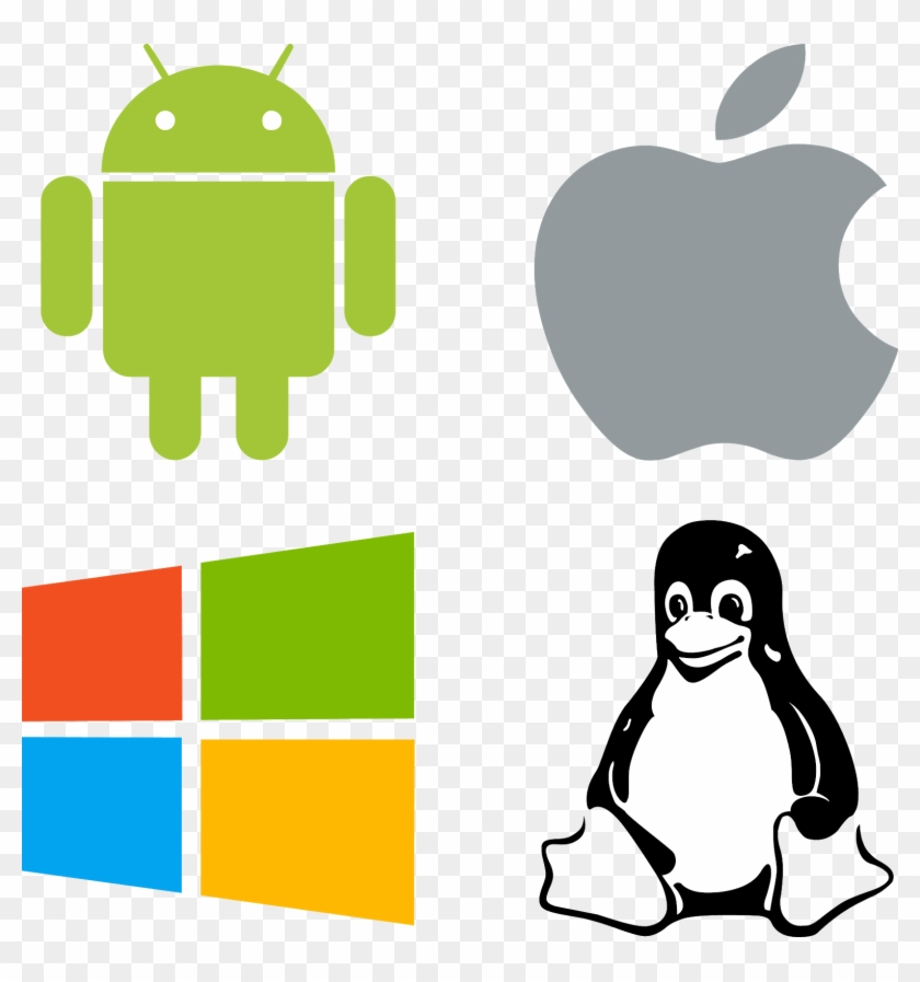 Download Logos Windows Linux Android Mac Svg Eps Png - Linux Icon