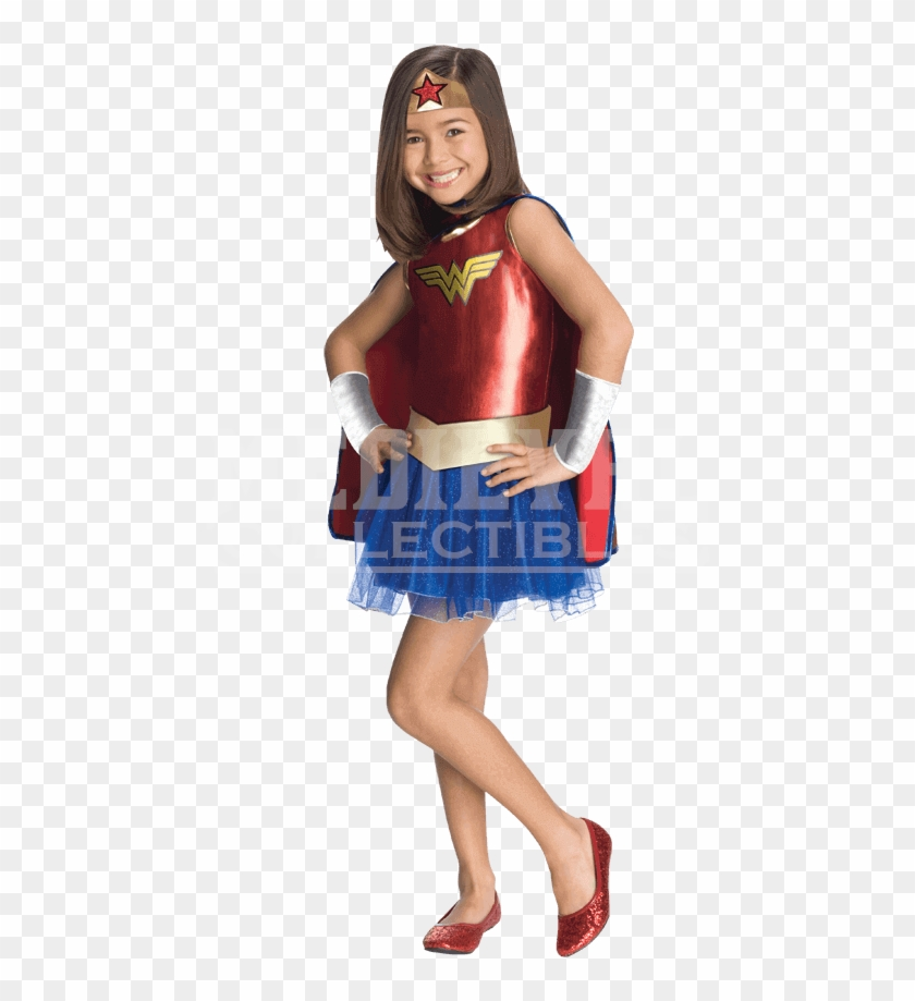 Halloween Costume 398.Wonder Woman Halloween Costume For Kids Hd Png Download 850x850