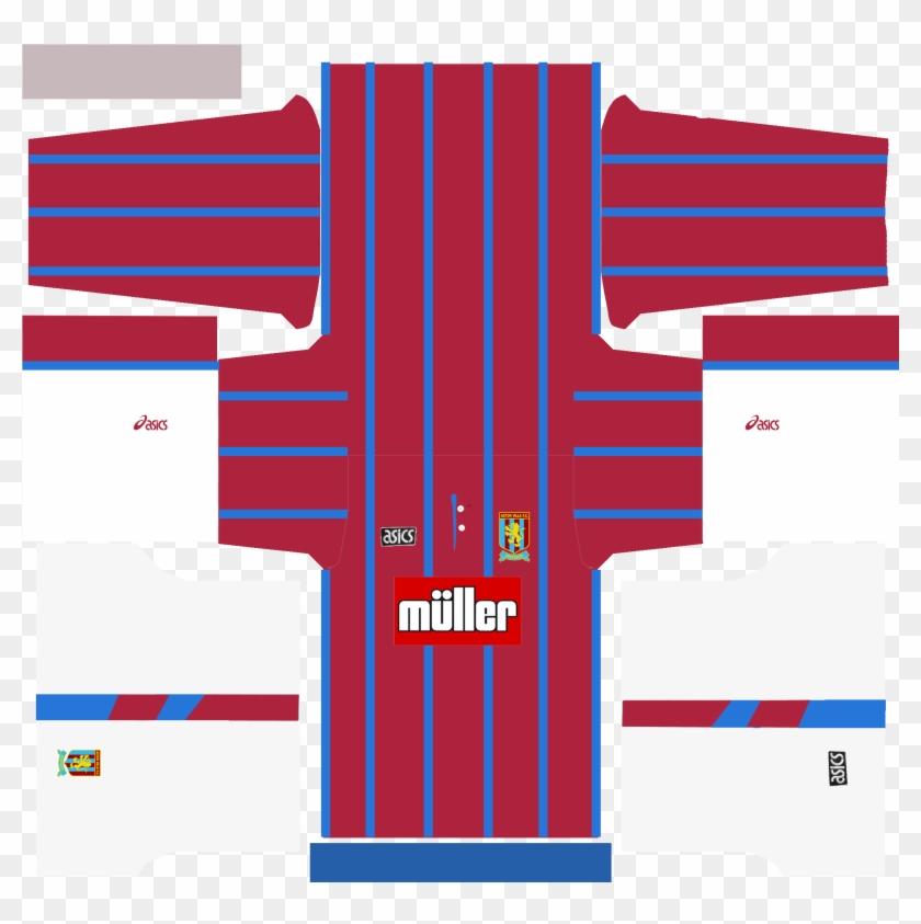 new style 6cdca db255 Download Arsenal 1992 Kit Preview Aston Villa 1994 - Kit Pes ...