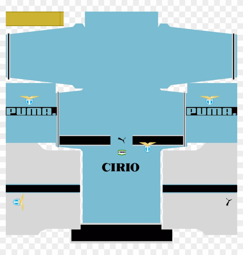 Download Lazio Retro Home Kit For Pes 16 By Pes World - Kits