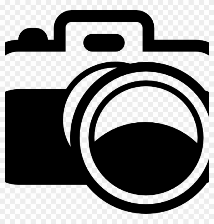Camera white. Clipart black and dslr