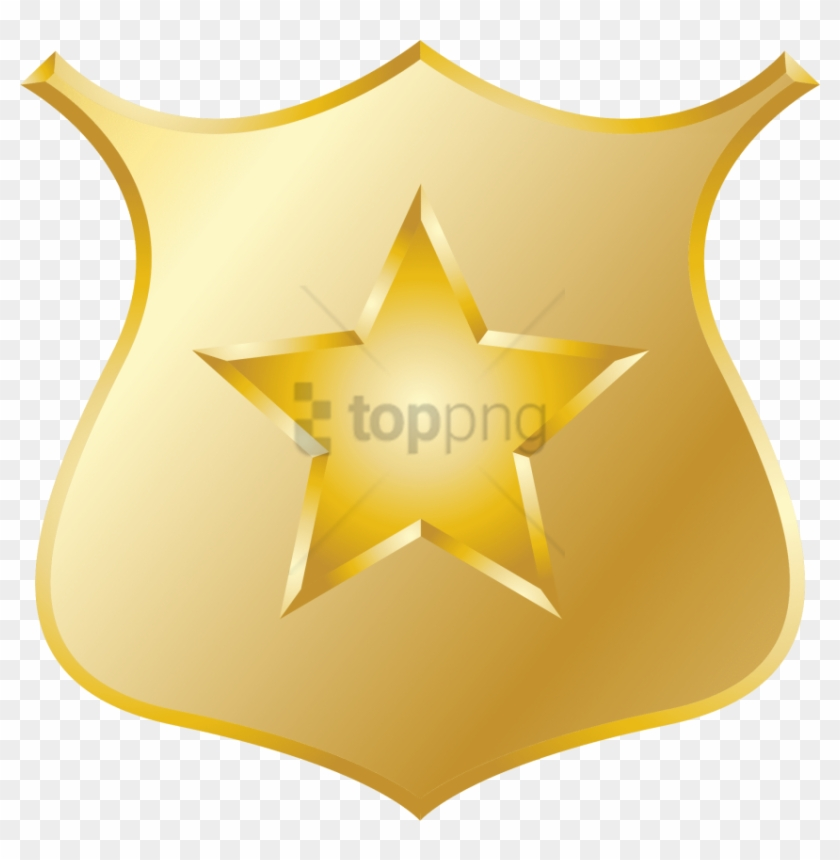 Police badge sheriff. Officer copyright clipart png