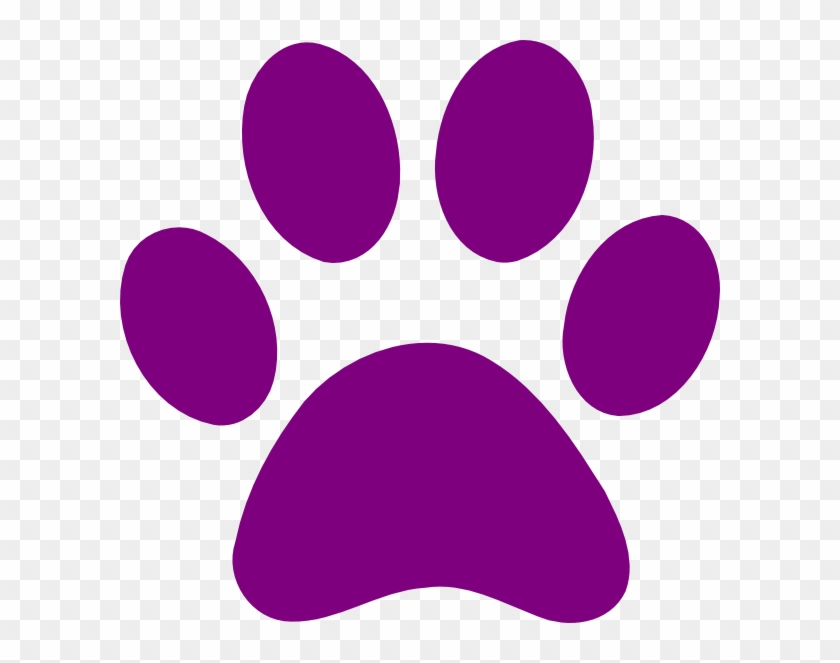 Purple Paw Print Hd Png Download 600x583 43957 Pngfind Upload only your own content. purple paw print hd png download