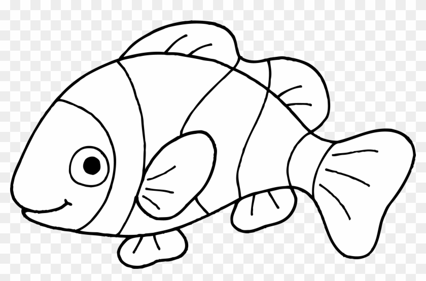 Fish Drawing Outline
