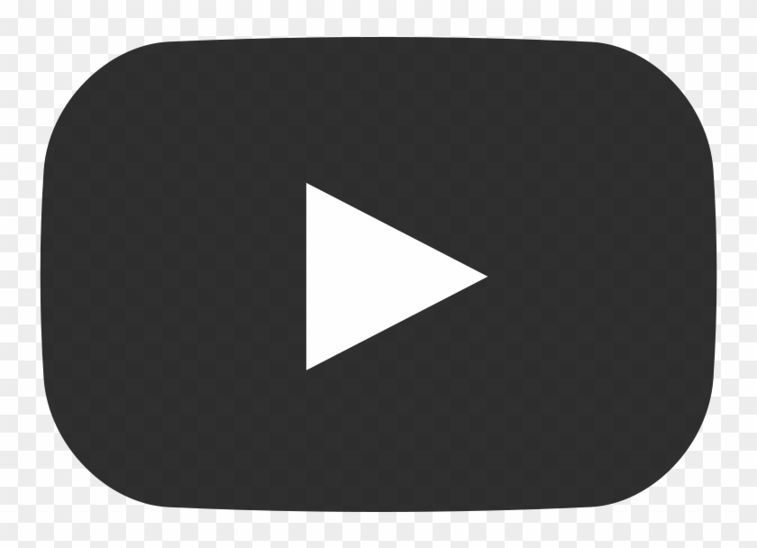 Download - Youtube Play Button Black, HD Png Download ...