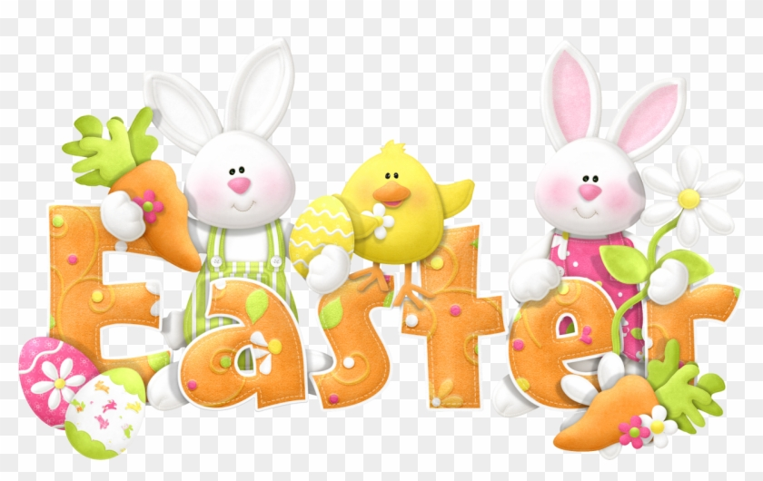 Easter bunny happy. Free basket clipart photos