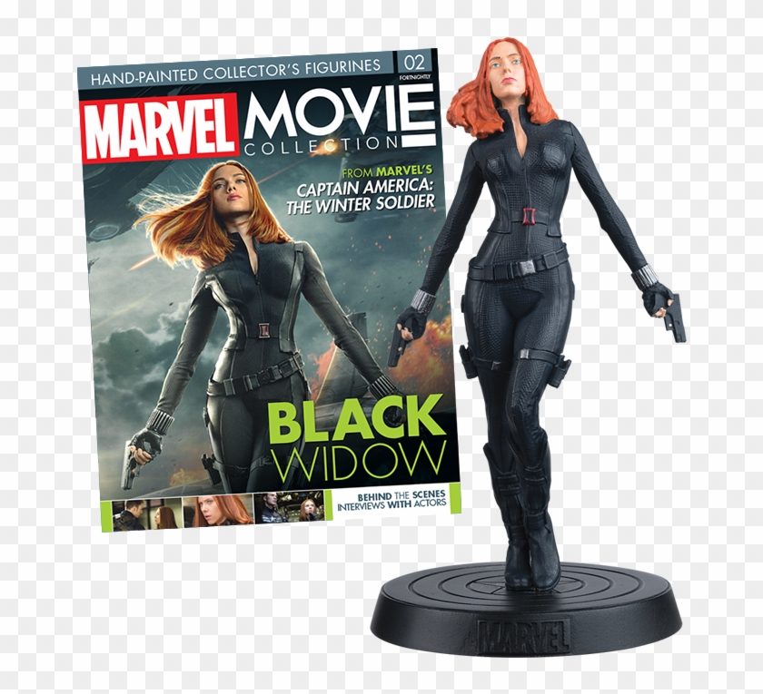 Mm-issue02 Black Widow - Eaglemoss Marvel Movie Collection