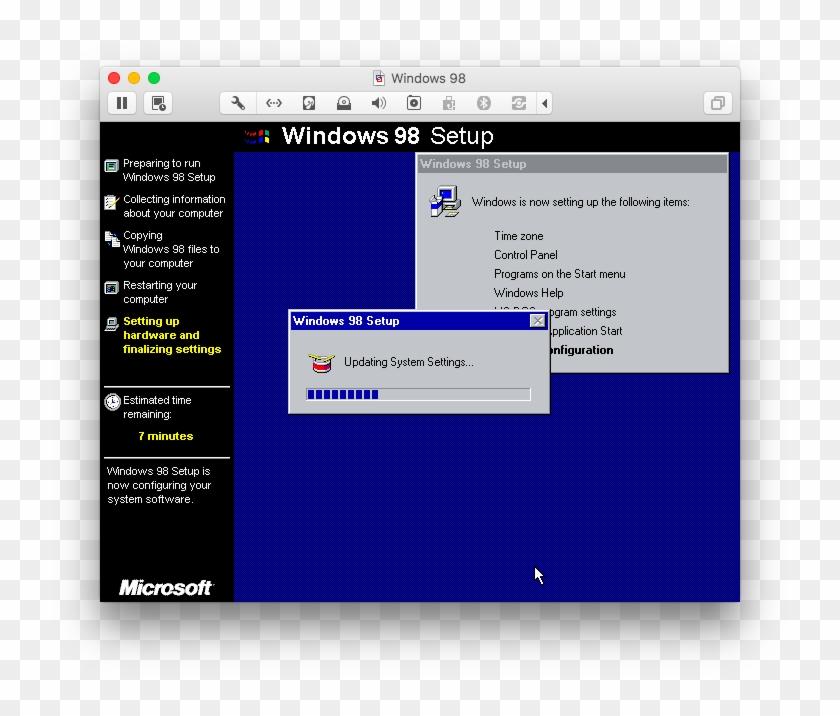 How To Mod Wolfenstein 3d - Windows 98 Setup, HD Png