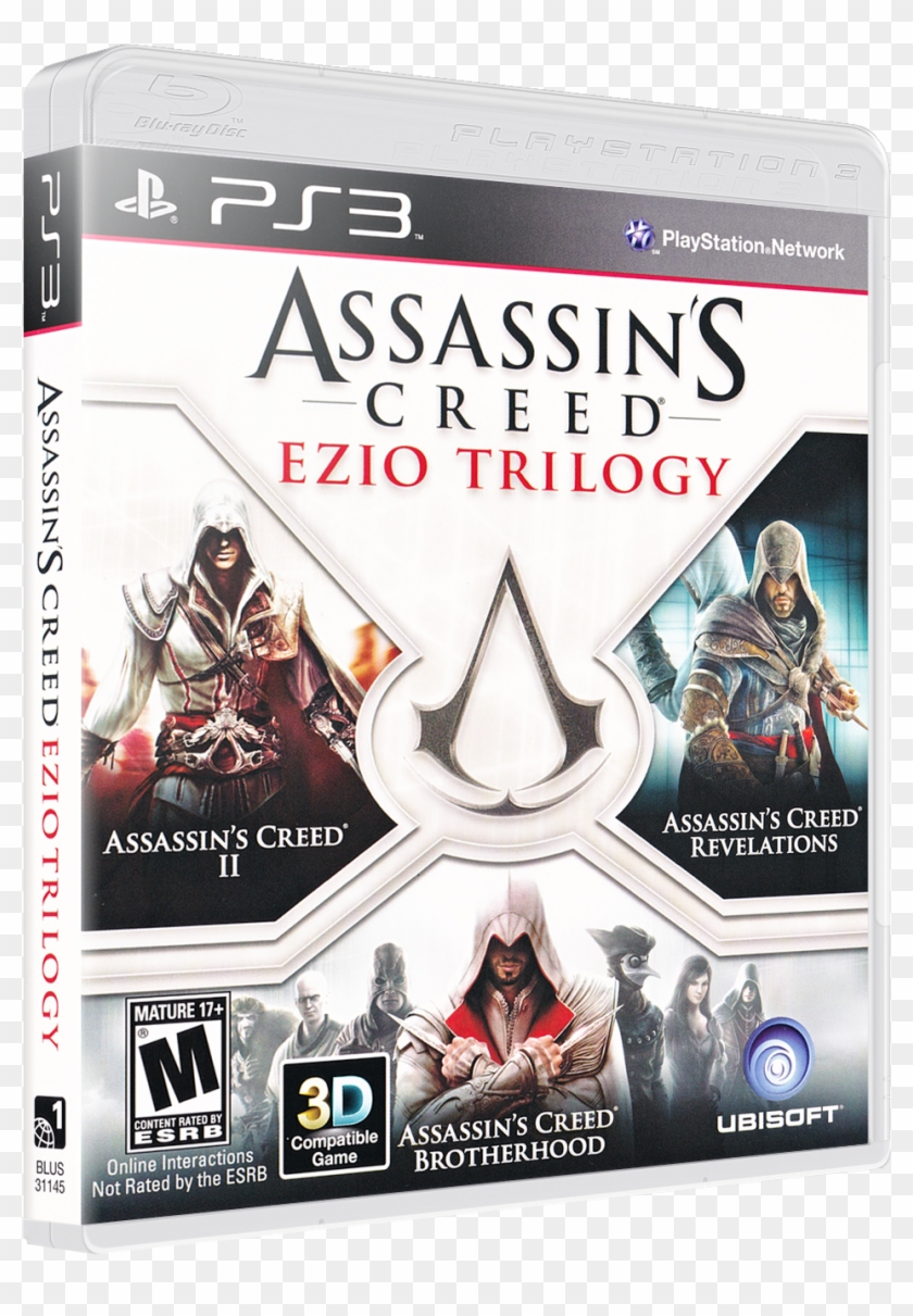 Assassin S Creed Ezio Trilogy Ezio Trilogy Xbox 360 Hd Png