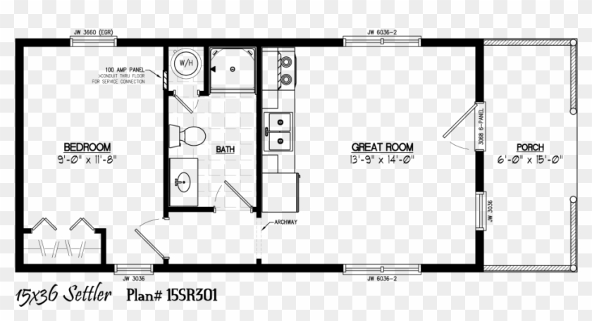 Floor Plans For 12 X 24 Sheds Homes 15 48 House Plan Hd