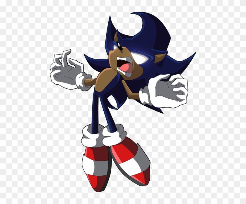 Dark Sonic Sonic X Super Dark Sonic Hd Png Download 500x619 4081040 Pngfind