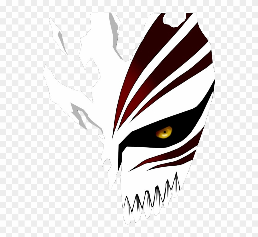Ichigo Hollow Mask Png Transparent Png 656x757 4082250 Pngfind