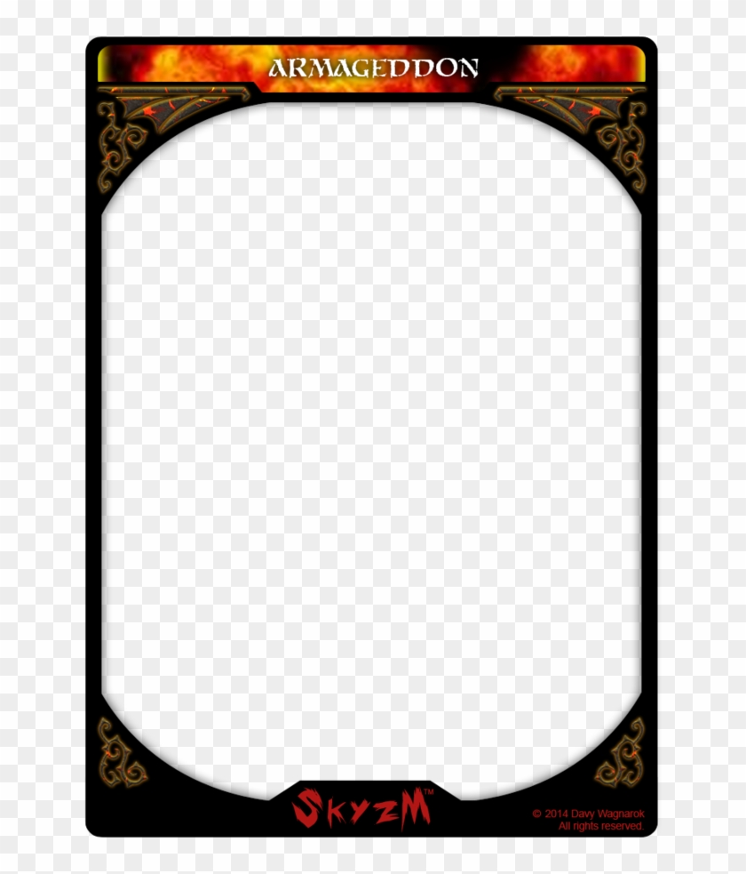 Card Template Png - Trading Card, Transparent Png - 21x21 Inside Free Trading Card Template Download