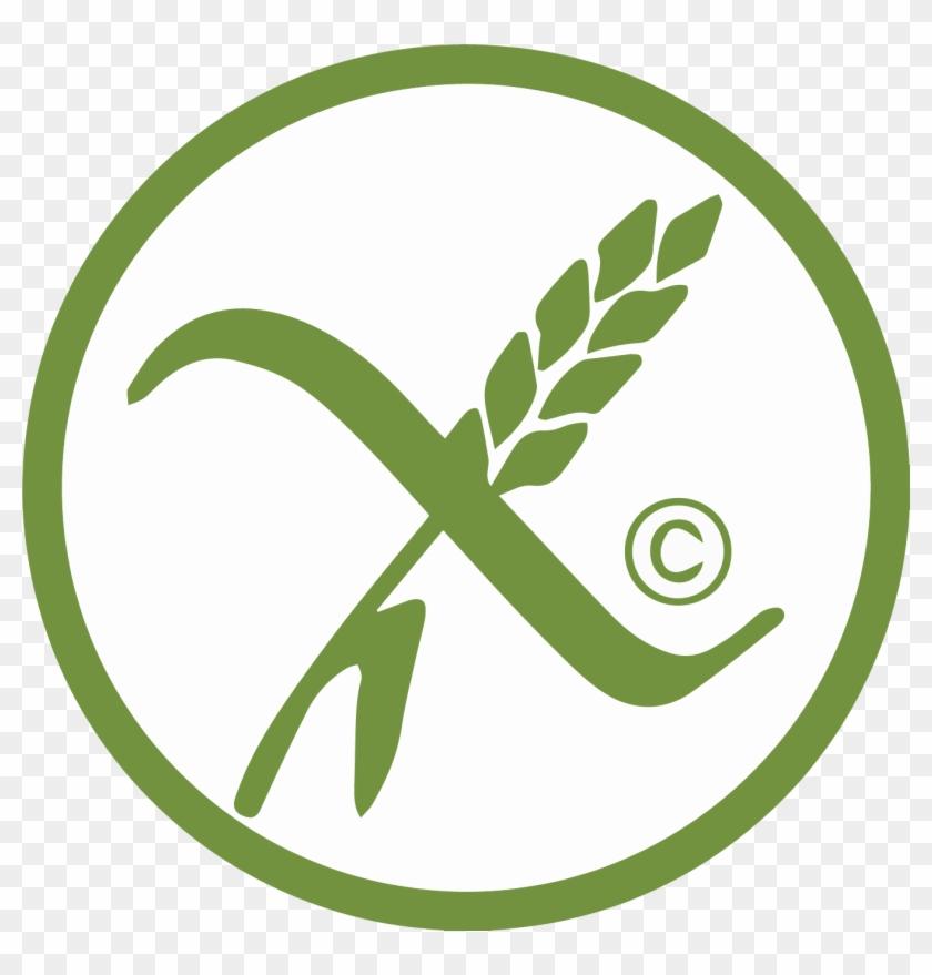 Gluten Free Logo - Crossed Grain Symbol, HD Png Download - 1345x1344