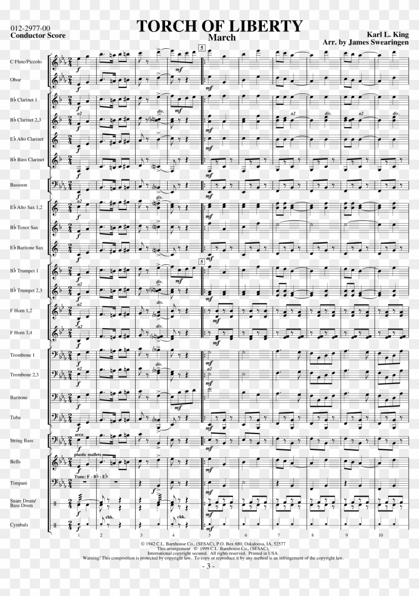 Click To Expand Torch Of Liberty Thumbnail - Mozart Symphony