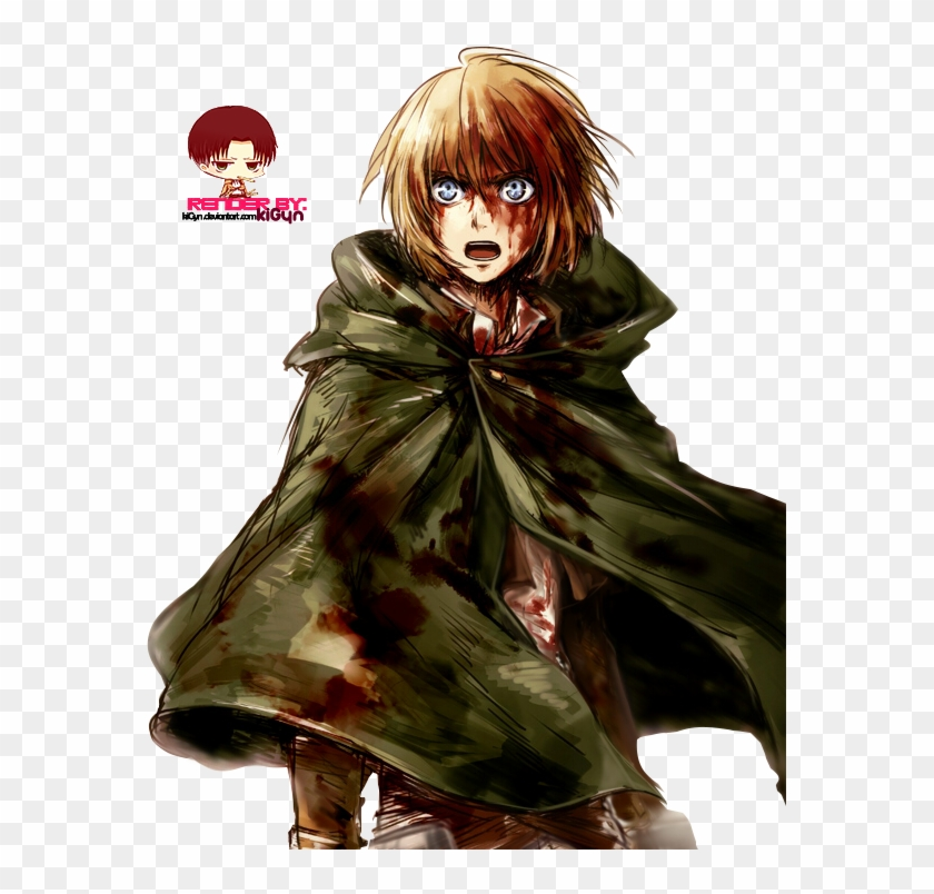 Shingeki No Kyojin Images Armin Arlert Hd Wallpaper Armin Shingeki No Kyojin Fanart Hd Png Download 575x724 413147 Pngfind