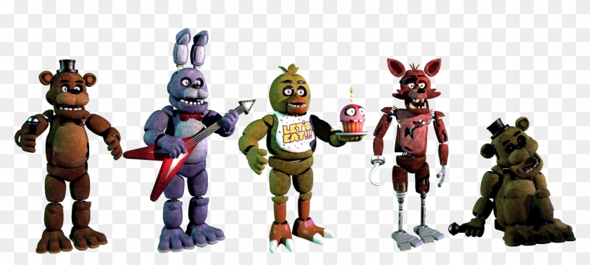 Five Nights At Freddy's 1 Extras - Imágenes De Five Nights At