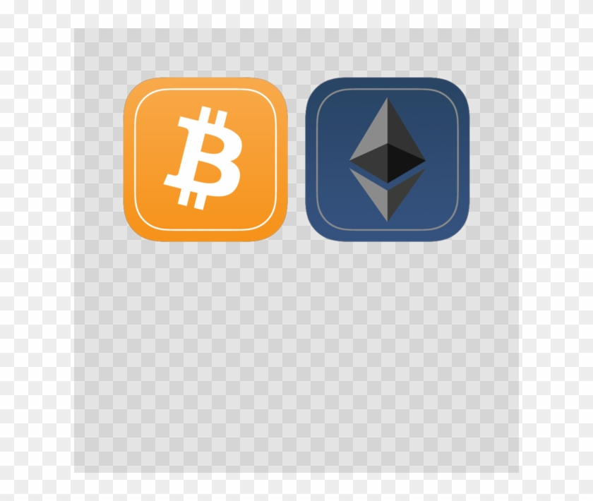 Bitcoin And Ethereum - Bitcoin, HD Png Download - 630x630