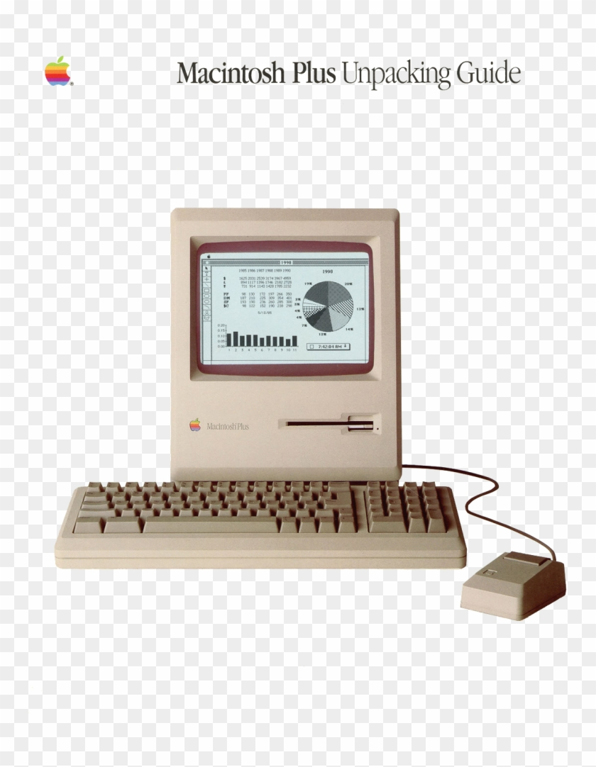 Apple Macintosh Plus Computer Keyboard Hd Png Download