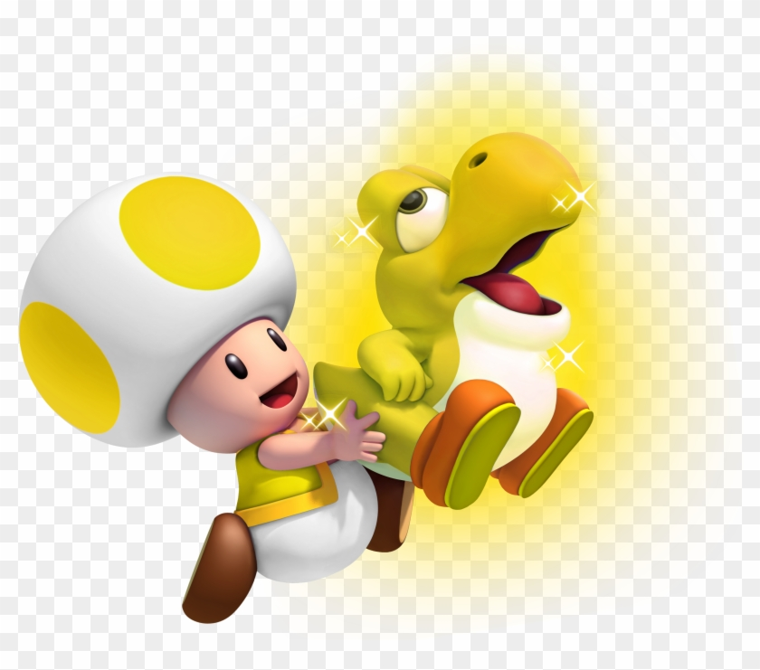 Http New Super Mario Bros U Toad Hd Png Download 2700x2400