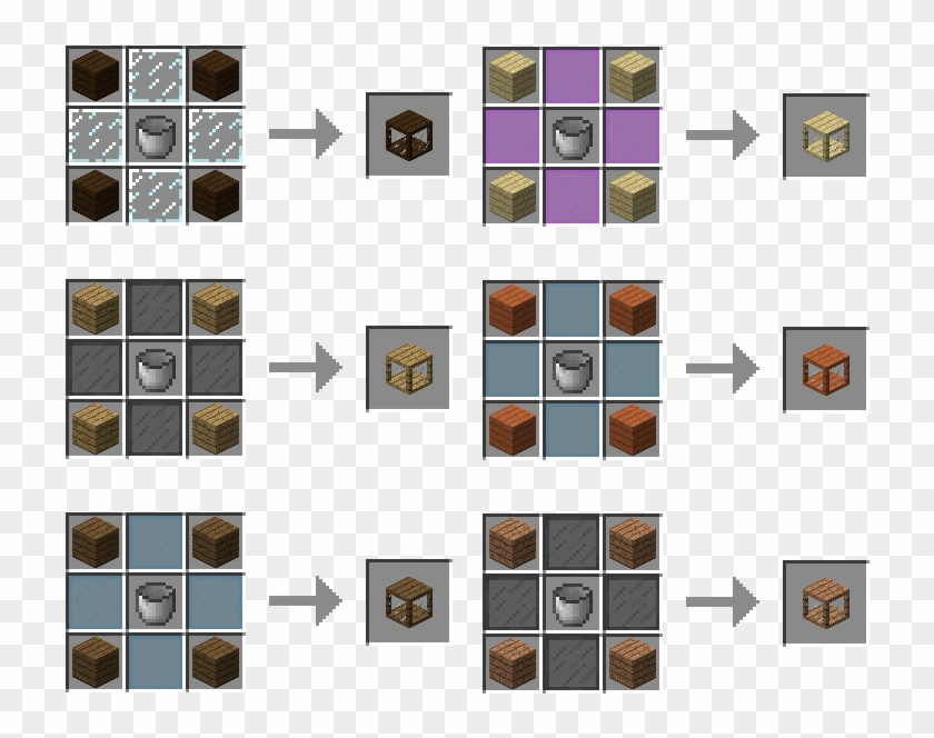 Some Upgrade Recipes Craft A Backpack In Minecraft Hd Png Download 824x700 4128467 Pngfind
