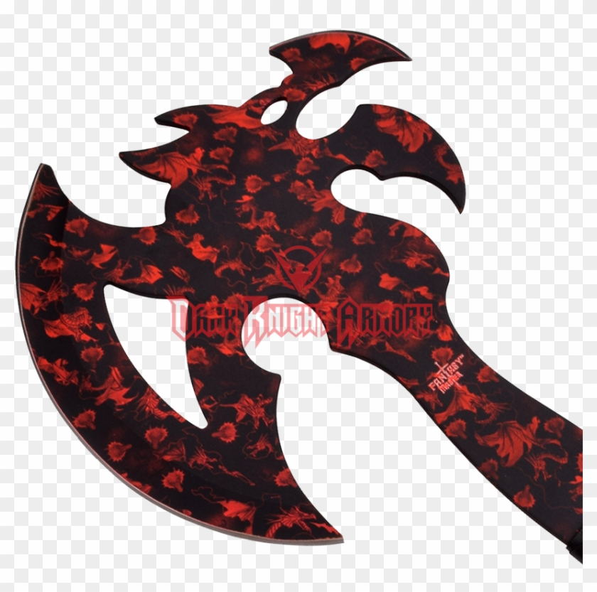 Red Dragon Claw Mc - Fantasy Axe, HD Png Download - 850x850(#4133609