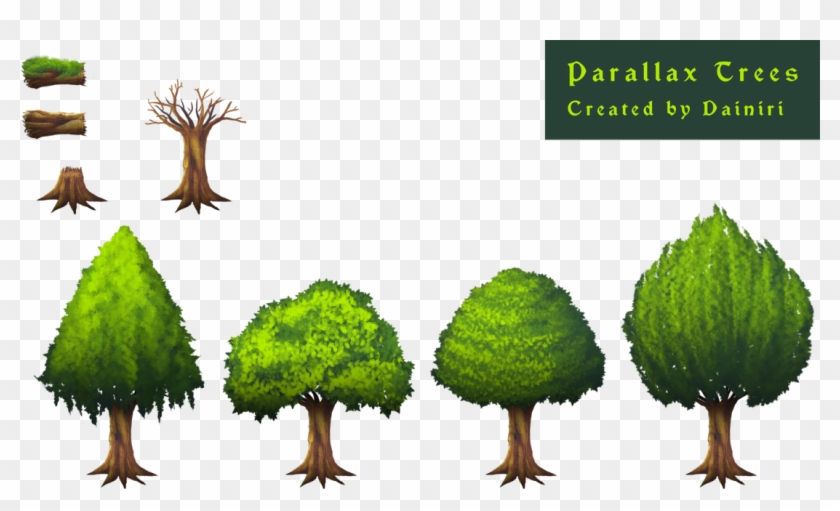 Picture - Rpg Maker Mv Tree, HD Png Download - 1100x618(#4137239