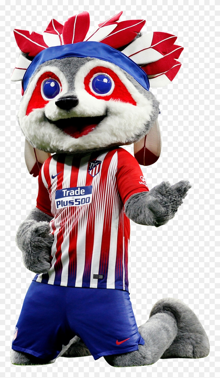 Atletico Madrid Mascot Render Atletico Madrid Hd Png Download 796x1400 4144528 Pngfind