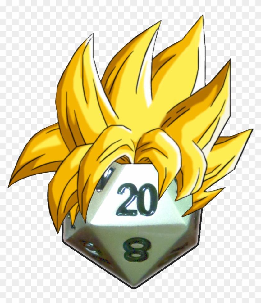Superd20 Vegeta Hair Superd20 Goku Hair Goku Ssj Hair Png