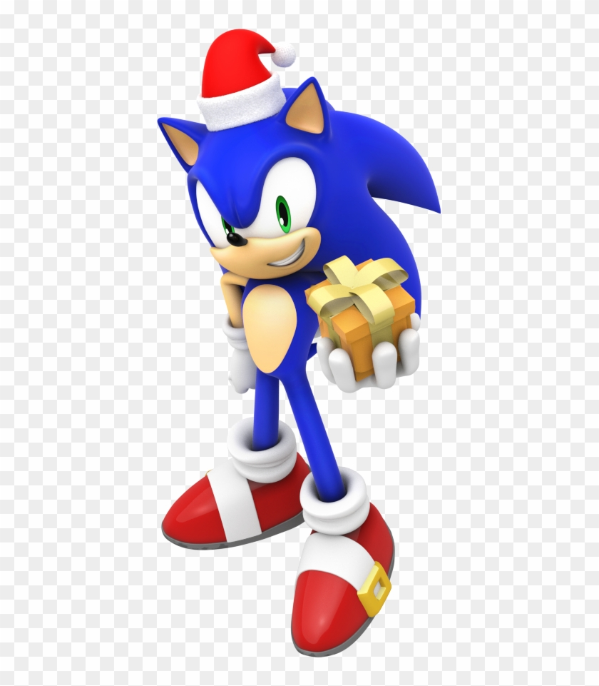 Christmas Mario Png.Merry Christmas From Sonic By Mintenndo Mario And Sonic