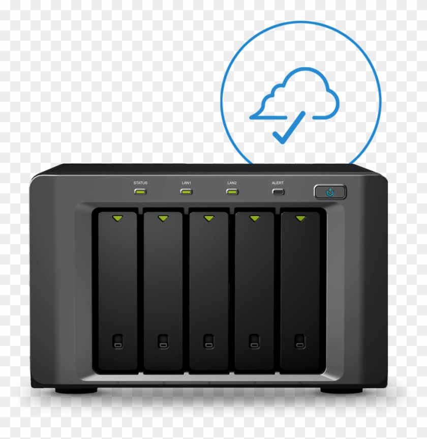 Synology Nas And Cloud Backup Symbol - Synology Disk Station