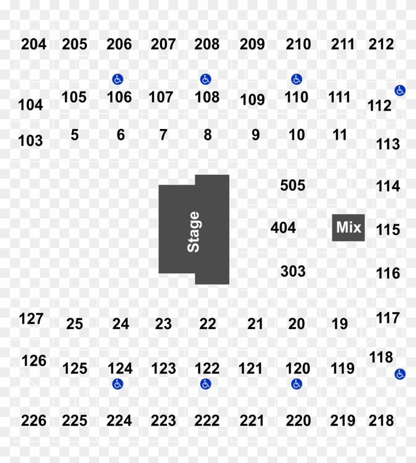 Seatics Logo Mohegan Sun Arena Seating Chart Hd Png Download