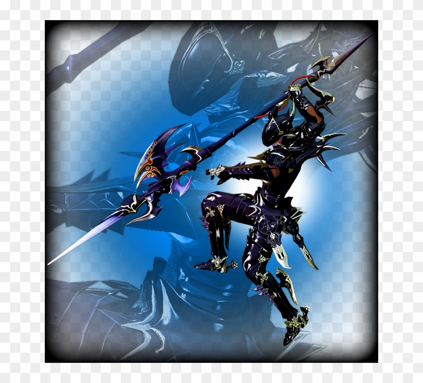 Dragoon - Dragoon Level 50 Armor, HD Png Download - 662x680