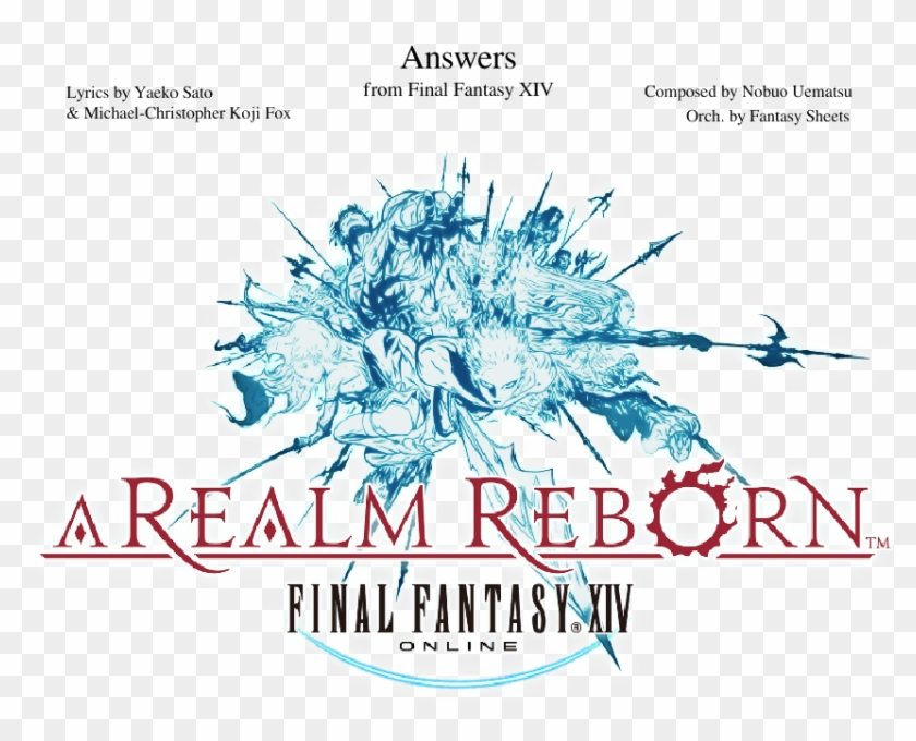 Final Fantasy Xiv - Final Fantasy Xiv Soundtrack, HD Png Download