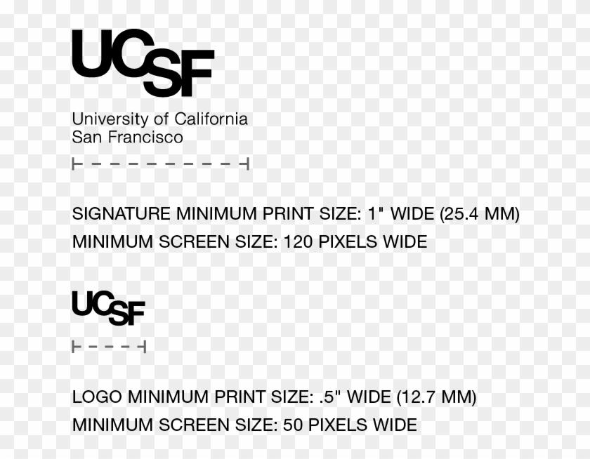 Ucsf Logo Minimum Size - Ucsf Benioff Children's Hospital
