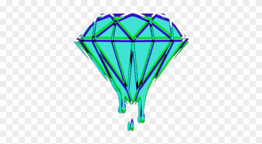 Trippy Tumblr Grunge Diamond Meltingart T Shirt Roblox